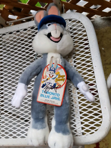 bugs bunny roy halladay autographed doll