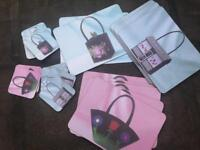 10 table mats and 10 coasters