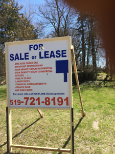 FOR SALE ONE, ACRE VACAND LAND, IN DOWN TOWN KITCHENER.