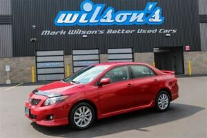 2010 Toyota Corolla S $50/WK, 6.24% ZERO DOWN! POWER PAKCAGE! RE