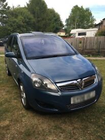 Vauxhall Zafira SRi with panoramic roof