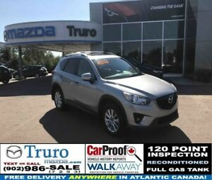 2014 Mazda CX-5 GS! AWD! BACKUP CAM! HEATED SEATS! GS! AWD! ROOF