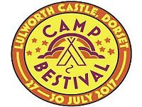 Camp Bestival 2 Adult Weekend Camping 27-30 July 2017