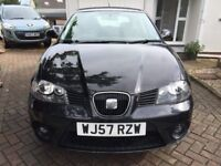 07/57 SEAT IBIZA 1.4 SPORT 5DR HATCH, DEMO + 1 MATURE LOCAL OWNER 60k FULL SERVICE HISTORY