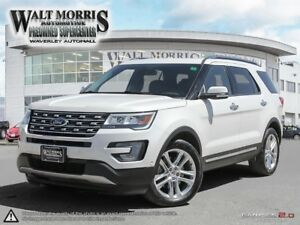 2017 FORD EXPLORER LIMITED: ACCIDENT FREE, LOCAL VEHICLE