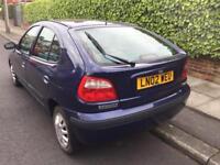 Renault Megane, 2002, 1.4, 5 Months Mot, 80,000 Miles, 5 Door, Very Reliable...