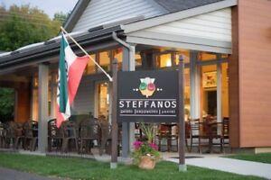 Restaurant STEFFANOS à vendre à Cowansville