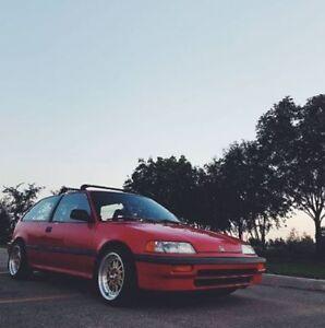 1989 Honda Civic Hatchback (Needs Engine) - Looking to trade.