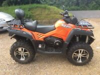 Quadzilla x8 800cc Road legal Quad