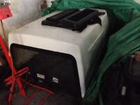 Golf caddy fibreglass back