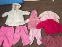 Girls 3-6 months clothes, 3 pics