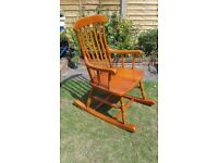 Solid Pine Rocking chair - DELIVERY AVAILABLE