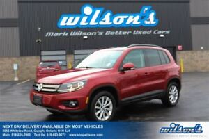 2013 Volkswagen Tiguan COMFORTLINE LEATHER! PANO SUNROOF! HEATED