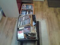 whole collection of CDs and DVDs Pop Classical etc
