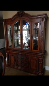 dining set, cabinets, lamps, tables plus gym equipment etc