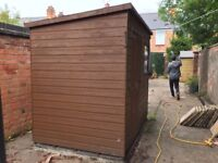 Large Shed For Sale - in very good condition, 5ft x 7ft with lockable door.