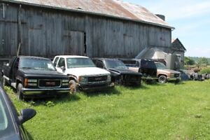 Parting out 1988-1998 chevy/gmc trucks