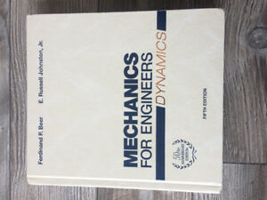 Mechanics and Calculus textbooks for sale.