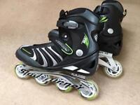 Rollerblade Blade Runner formula 82 inline roller skates size 10/11