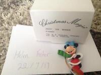Minnie Mouse Disney Grolier Christmas Decoration