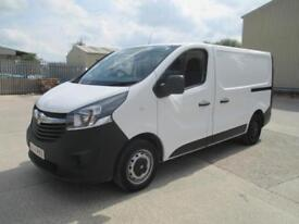 2014 Vauxhall Vivaro 1.6CDTi 115PS 2014.5MY 2700 L1H1 1 owner diesel sld pas e/w