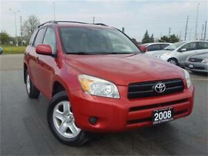 2008 Toyota RAV4 Base , Accident free, One owner, Certified