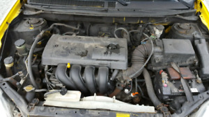 2004 Toyota Matrix. NOT DRIVEABLE. As is where is