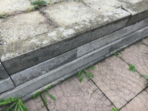 Grey curb Stone