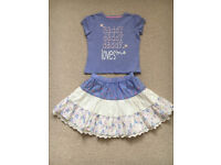 Top & skirt size 2-3 years old