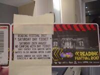 Reading Festival Tickets - Saturday