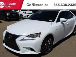 2016 Lexus IS 200T Sunroof, heated and ventilated seats, less th
