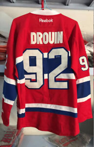 CHANDAIL LNH CANADIENS MONTREAL WEBER DROUIN SHAW PRICE JERSEY