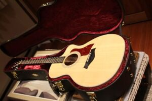 NEW LIMITED EDITION TAYLOR ELECTRIC  ACOUSTIC GUITAR