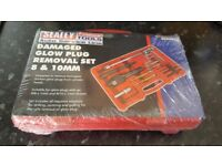 Sealey - Glow Plug removal set 8 & 10mm - New boxed