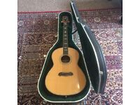 K Yairi GW-1100 Handmade Japanese Acoustic Guitar 2000/Fitted With Fishman Pickups/Case included