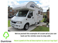 Campervan DUCATO Fiat -- Read the description before replying to the ad!!