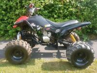 200cc quad bike atv off road , geared quad very fast ,electric start ready to go
