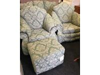 Sofa and 2 chairs can deliver