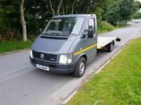 Volkswagen lt 35 beavertail recovery truck