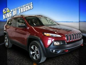 2014 Jeep Cherokee Trailhawk | NAV | Back-Up Camera | Heated Ste