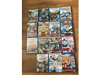 Selection of Thomas Dvds