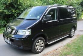 VW T5 2.5 Auto Genuine Factory Leather Kombi 130k Tailgate A/C High Spec