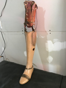 Antique Prosthetic Leg