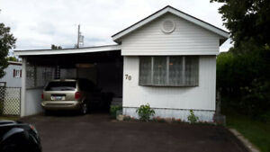 Mobile Home 1080 sq in Quiet Large lot in Bayview Estates
