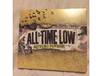 All Time Low Nothing Personal CD sealed