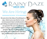 Full Time Spa Coordinator
