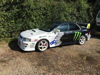 One off p1 replica Subaru Impreza turbo rally race