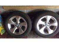 BMW F30 16 inch alloy wheels