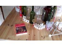 Starter kit for wine making etc