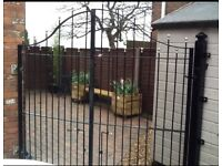 Gates to fit opening approx 240cm